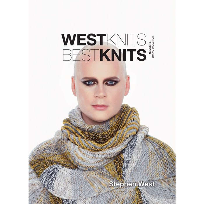 WestKnits BestKnit 3 - Shawl Evolution af Stephen West