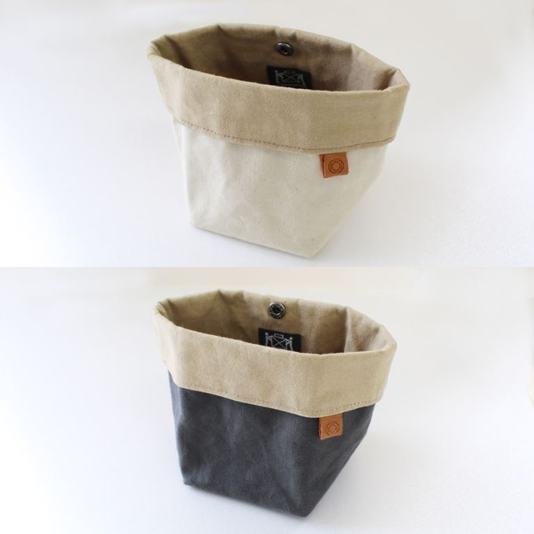 Cohana - Waxed Canvas Accessory Pouch