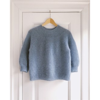 Novice Sweater - Mohair Edition fra PetiteKnit