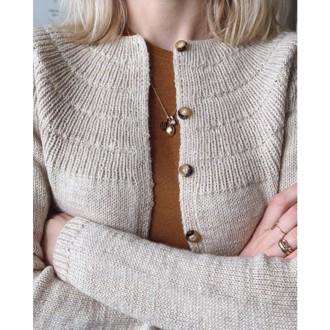 Ankers cardigan - My Size fra PetiteKnit