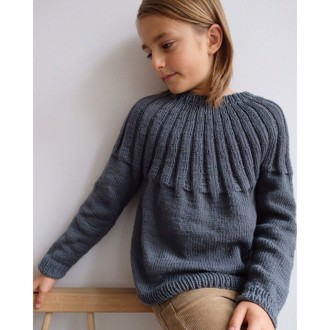 Haralds sweater junior fra PetiteKnit