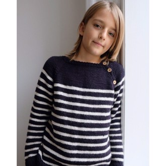 Seaside Sweater Junior fra PetiteKnit